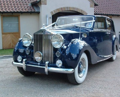 Classic Wedding Cars in Wales