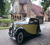 1950 Rolls Royce Silver Wraith in Cardiff