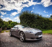 Aston Martin DB9 Hire in Cardiff