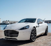 Aston Martin Rapide Hire in Cardiff