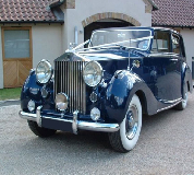 Blue Baron - Rolls Royce Silver Wraith Hire in Cardiff