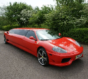 Ferrari Limo in Cardiff