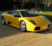 Lamborghini Murcielago Hire in Cardiff