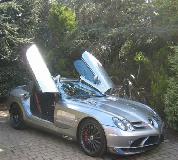 Mercedes Mclaren SLR Hire in Cardiff