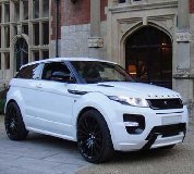 Range Rover Evoque Hire in Cardiff
