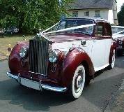 Regal Lady - Rolls Royce Silver Dawn Hire in Cardiff