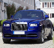 Rolls Royce Ghost - Blue Hire in Cardiff