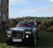 Rolls Royce Phantom - Black Hire in Cardiff