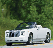 Rolls Royce Phantom Drophead Coupe Hire in Cardiff