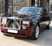 Rolls Royce Phantom - Royal Burgundy Hire in Cardiff