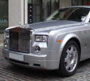 Rolls Royce Phantom - Silver Hire in Cardiff