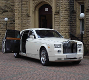 Rolls Royce Phantom Hire in Wales
