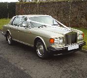 Rolls Royce Silver Spirit Hire in Cardiff