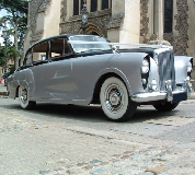 Silver Lady - Bentley Hire in Cardiff